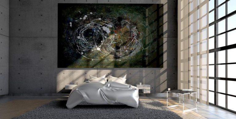 Stylizacja sypialni w kolorze białym